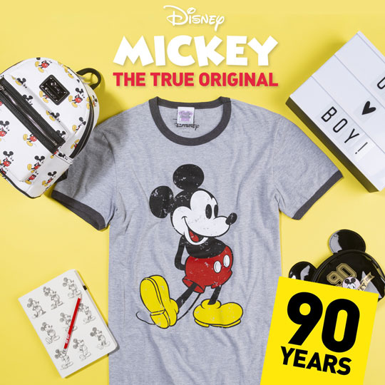 Disney - MICKEY THE TRUE ORIGINAL - 90 Years