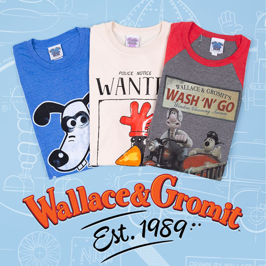 Wallace and Gromit - Est. 1989